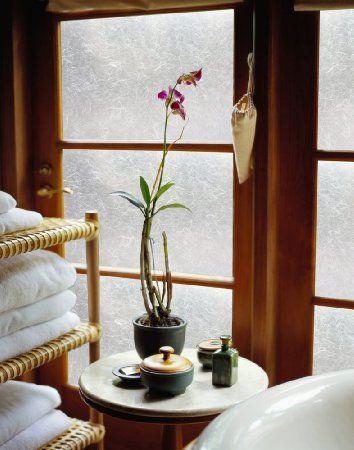 Folie geamuri Hartie de orez - decorare
