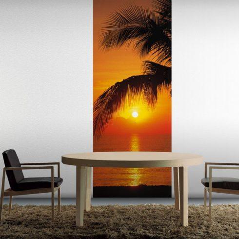 Fototapet pentru usa - Apus pe Plaja Interior