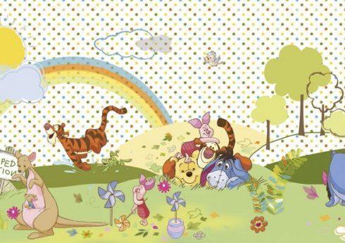 Fototapet Copii Winnie the Pooh - Cea mai frumoasa zi