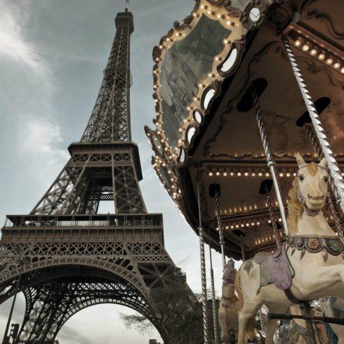 Fototapet Tour Eiffel - Carrousel de Paris Catalog