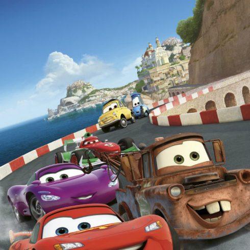 Fototapet Cars - Cursa in Italia