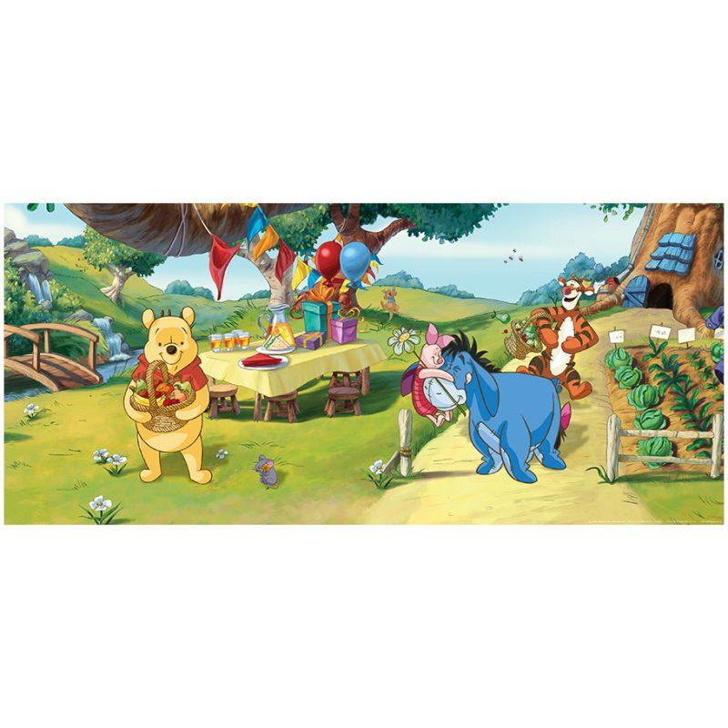 Fototapet Copii Winnie the Pooh – O zi speciala