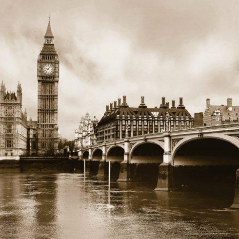 Fototapet Londra - Oras Sepia catalog