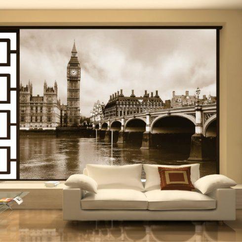 Fototapet Orase - London Sepia - Interior