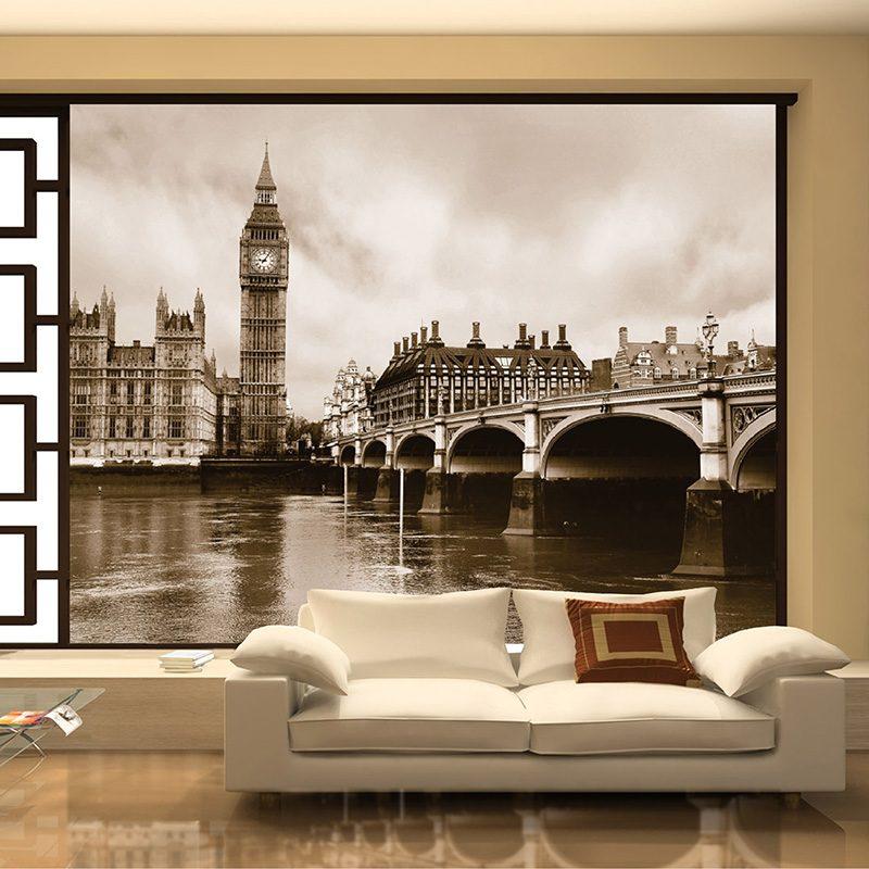 Fototapet Londra – Oras Sepia