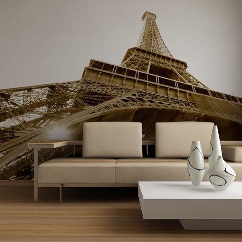 Fototapet Paris – Tour Eiffel Sepia