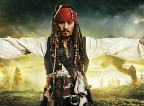Fototapet Piratii din Caraibe - Jack Sparrow
