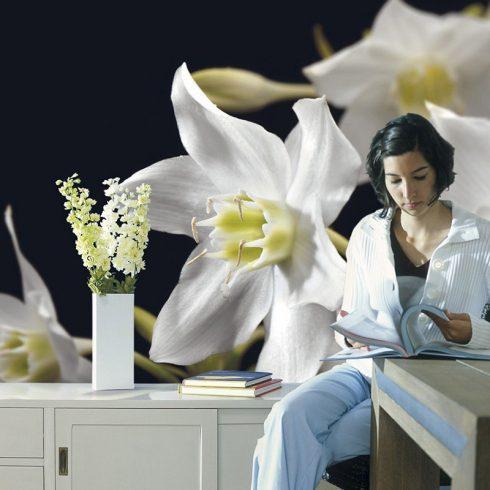 Fototapet floral crini