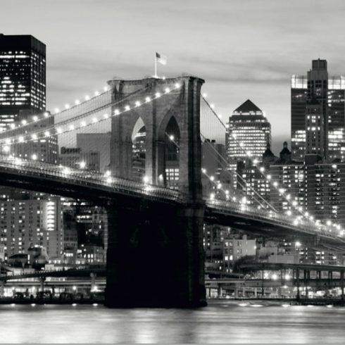 Fototapet Alb Negru - Podul Brooklyn Catalog