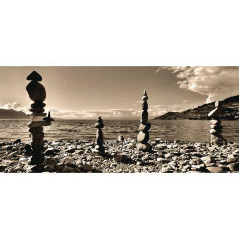Fototapet Feng Shui - Totemuri landscape