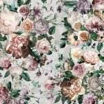 Fototapet Floral - Trandafiri Victoria