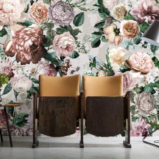 Fototapet Floral - Trandafiri Victoria Interior