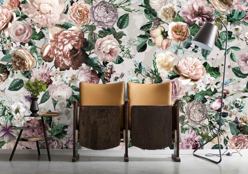 Fototapet Trandafiri Victoria Interior