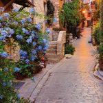 Fototapet Orase - Apus Mediteranean