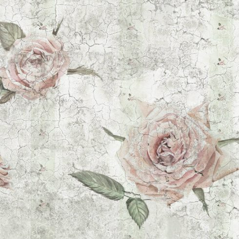Fototapet Trandafiri - Vintage Rose Vlies