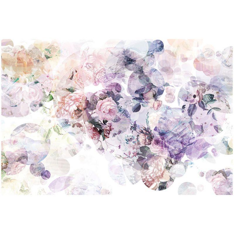 Fototapet floral Mirajul Florilor