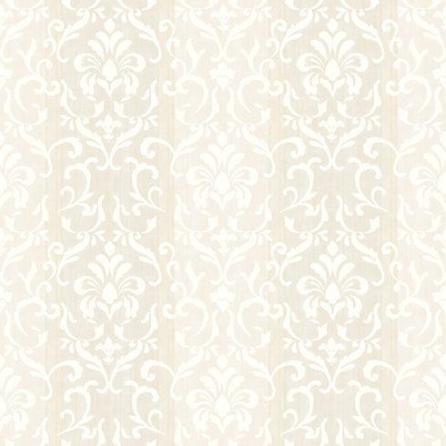 Tapet Shabby Chic Alice ivoire baroc