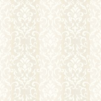 Tapet Shabby Chic Alice Ivoire - Baroc LL-00209