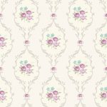 Tapet Shabby Chic Alice Dove - Mov LL-00218