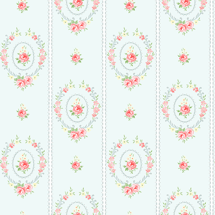 duck egg blue shabby. Exellent Blue Shabby Chic Wallpaper Matilda Wreaths U2013 Duck Egg Blue Throughout