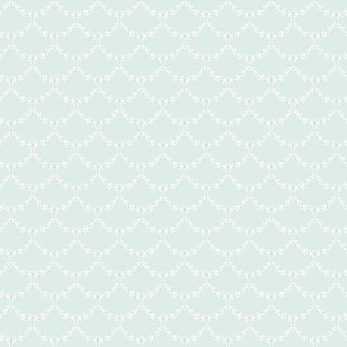 Tapet Shabby Chic Matilda Ghirlande - Bleu ou de rata LL-00302