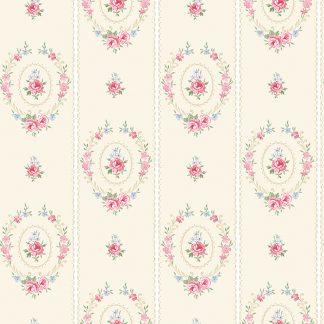 Tapet Shabby Chic Matilda Coronite - Vanilla LL-00305