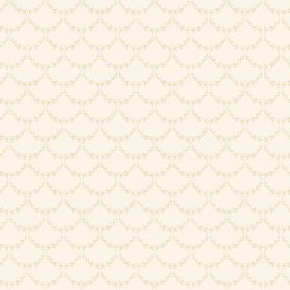 Tapet Shabby Chic Matilda Ghirlande - Vanilla LL-00306