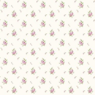 Tapet Shabby Chic Matilda Buchetele - Levantica LL-00312