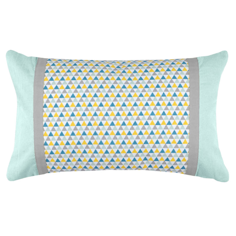 Decorative Pillows Blue : Decorative pillow Isocele - Blue