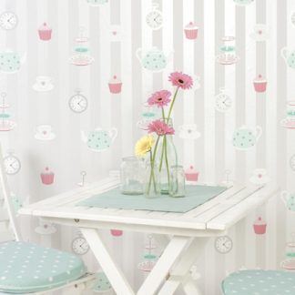 Tapet Shabby Chic