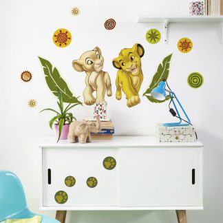Sticker Lion King - Simba si Nala Catalog