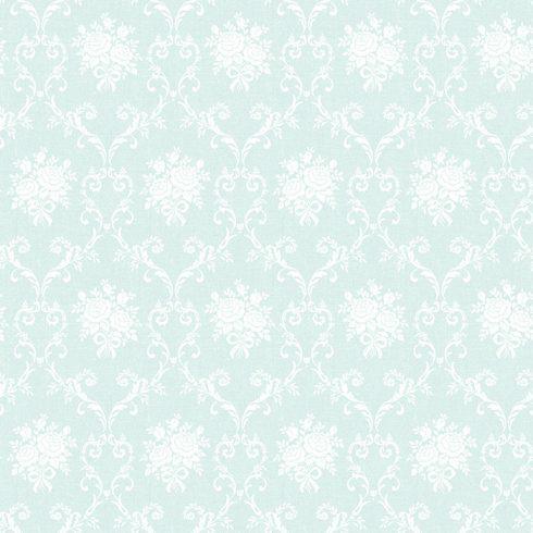 Tapet Shabby Chic Matilda Clasic - Bleu catalog