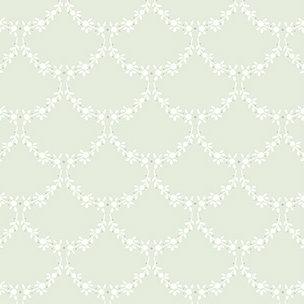 Tapet Shabby Chic Matilda Ghirlande - Sage catalog