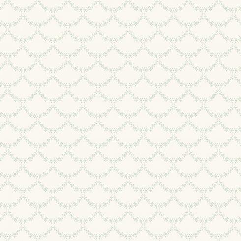 Tapet Shabby Chic Matilda Ghirlande - Crem catalog
