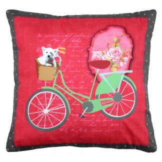 Perna Rosie Bicicleta verde