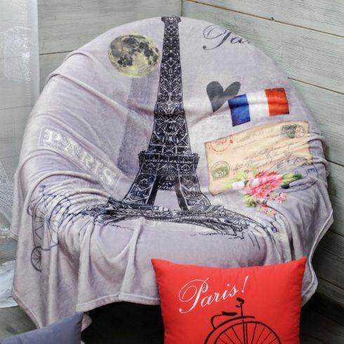 Pled canapea gri Tour Eiffel - Catalog
