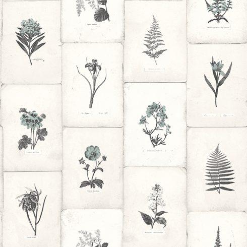 Tapet Oxford II Botanica Negru Carbune