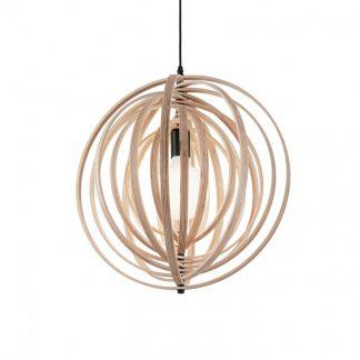Lampa tavan lemn Disco SP1