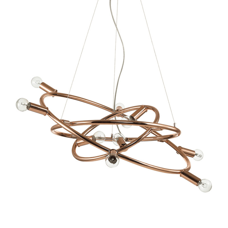 Lampa tavan cupru Cosmo SP9 Ideal Lux