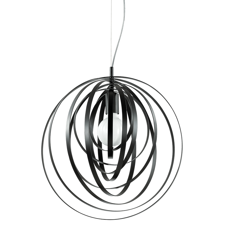Lampa tavan neagra Disco SP1