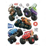 Sticker Cars Monster Truck
