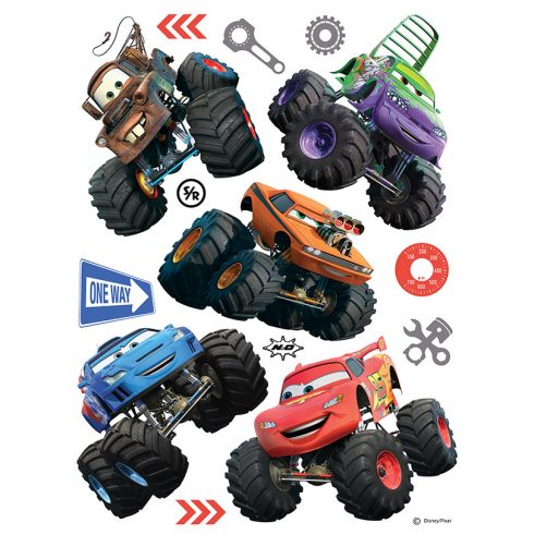 Sticker Cars - Monster Truck