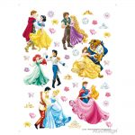 Sticker Copii Disney - Printese la Bal 2