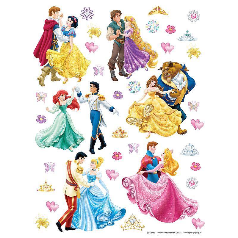 Sticker Copii Disney - Printese la Bal
