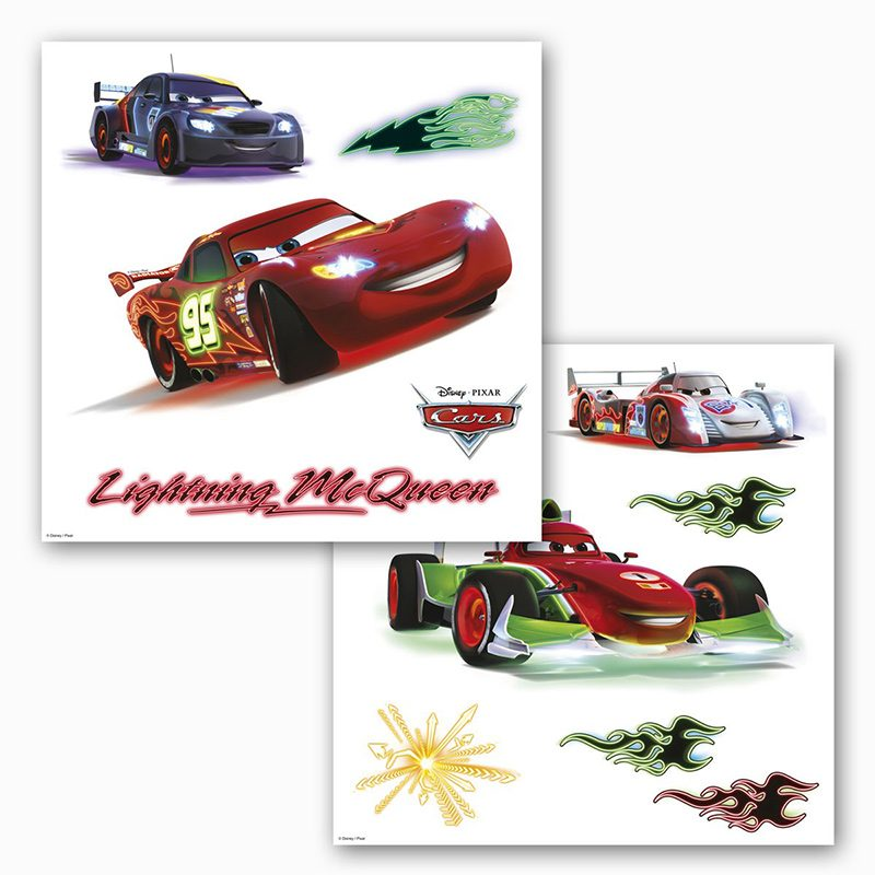 Sticker Fereastra Cars - Fulger McQueen