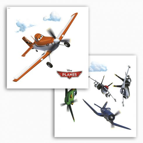 Sticker Fereastra Planes - Dusty in Actiune