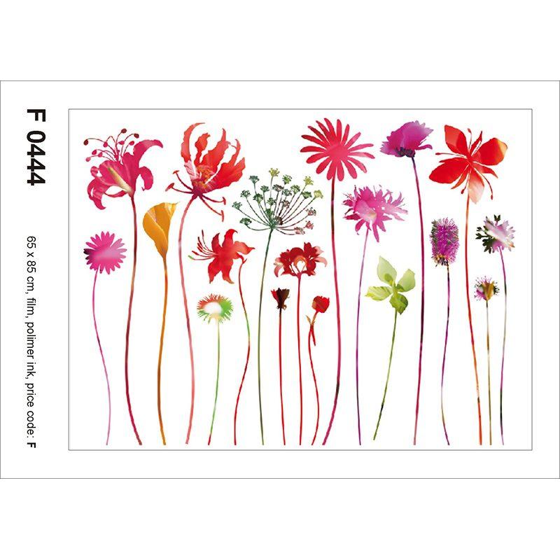 Sticker Flori Multicolore Nostalgie
