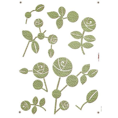 Sticker flori trandafiri