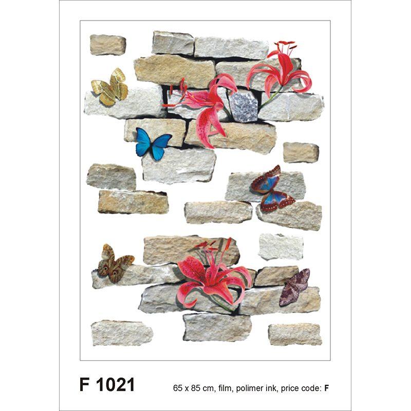 Sticker Fluturi si Caramizi