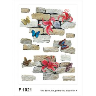 Sticker Fluturi si Caramizi Produs